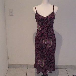Betsey Johnson slip dress size medium